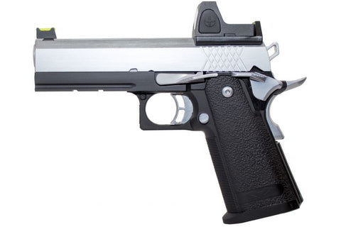 Raven Hi-Capa 4.3 Black Frame/Chrome Slide + BDS *WEB ONLY SPECIAL* - A2 Supplies Ltd