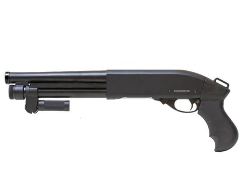 M870 'Serbu' Super Shorty Gas Tri-Shot Shotgun Black - A2 Supplies Ltd