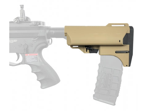 Retractable Magazine Butt Stock Tan - A2 Supplies Ltd