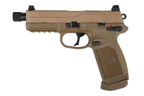 FNX-45 Tactical GBB Pistol (TAN) - A2 Supplies Ltd