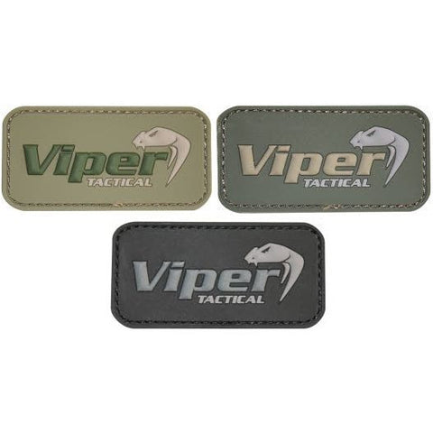 Viper Subdued Rubber Logo Patch