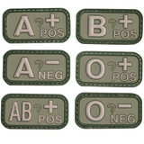 Viper Rubber Blood Type Patch - A2 Supplies Ltd