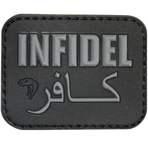 Viper Morale Patch Infidel Black