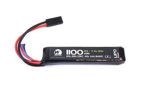 Nuprol 7.4v 1100mAh Stick Battery