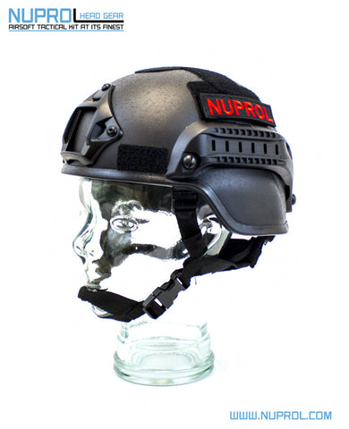 Nuprol Helmet MICH Black - A2 Supplies Ltd