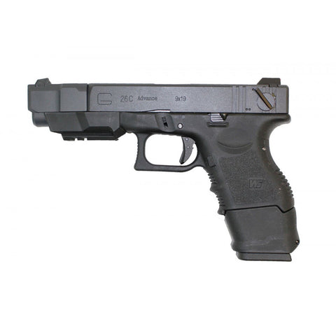 EU26 Advance Pistol Black - A2 Supplies Ltd