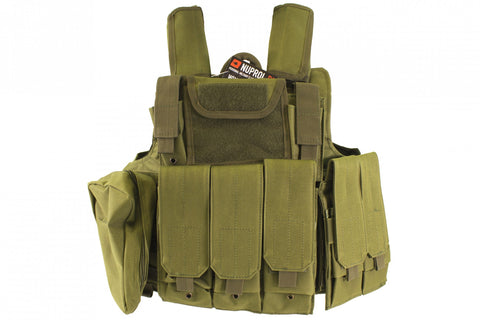 RTG Tactical Vest (5 colours) - A2 Supplies Ltd