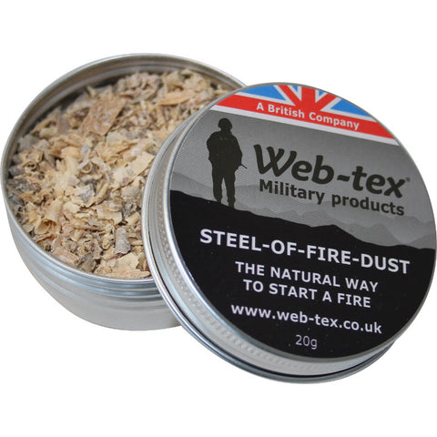 Steel of Fire Dust - A2 Supplies Ltd