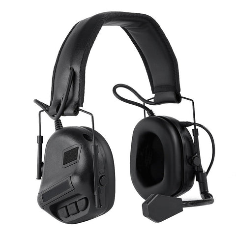 Nuprol Tactical Comms Headset Black - A2 Supplies Ltd