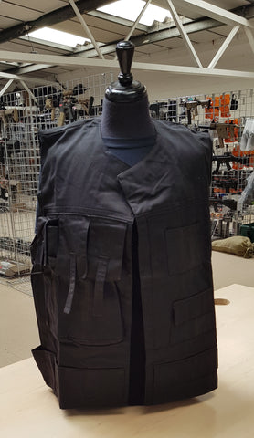 A2 Rebel Fleet Vest Black - A2 Supplies Ltd