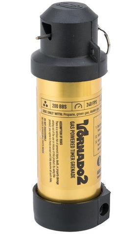 Airsoft Innovations Tornado 2 Timer Grenade Gold - A2 Supplies Ltd