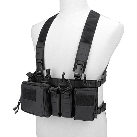 PMC Micro C Chest Rig (5 colours) - A2 Supplies Ltd