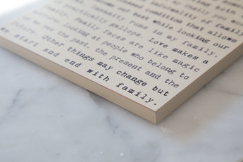 From the Heart - Typewriter Boards