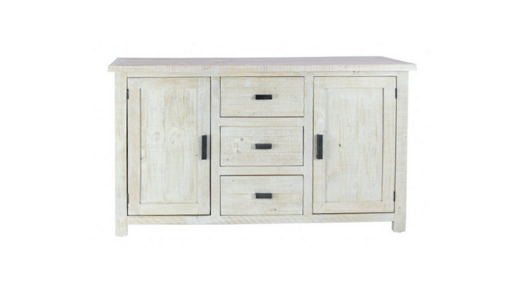 Driftwood Look  Sideboard - Gray