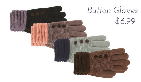Button Gloves $6.99