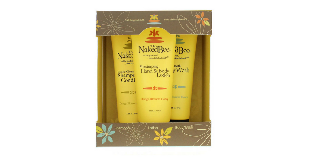 naked bee gift set
