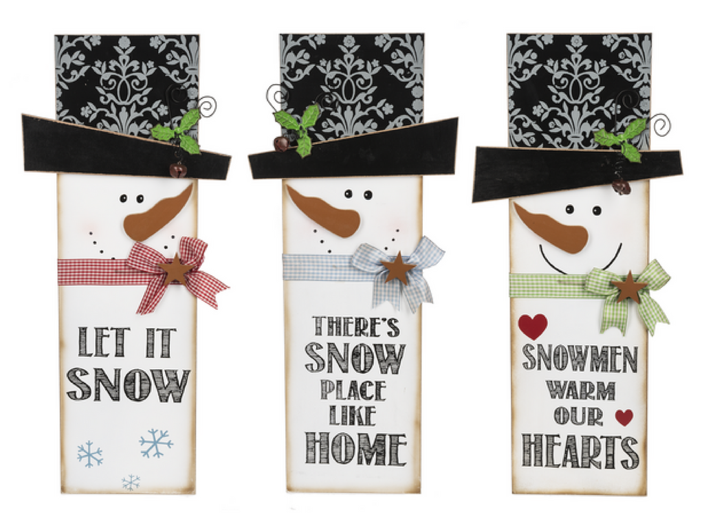 snowmen with christmas sayings