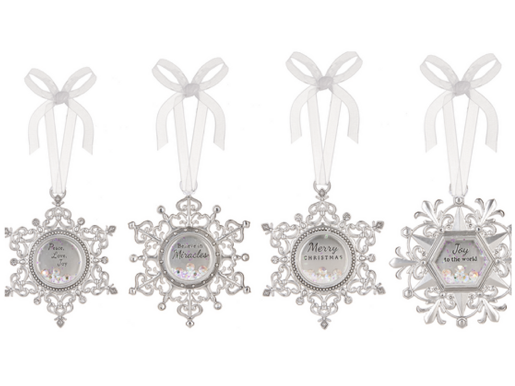 silver engraved ornament gifts