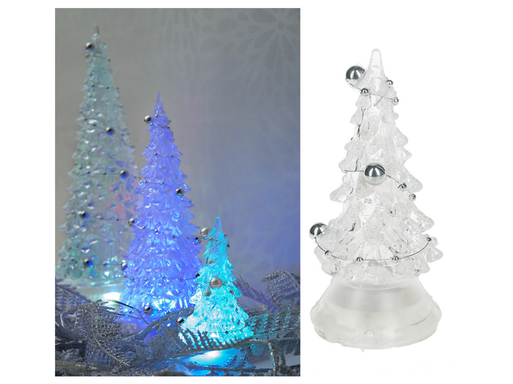 led christmas trees