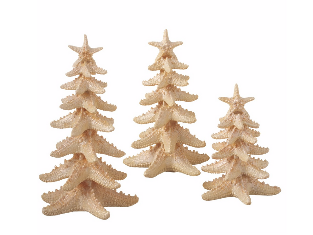 starfish christmas trees
