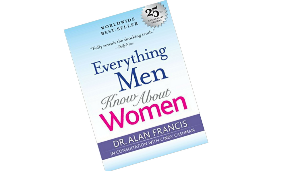 everything men know about women blank boook