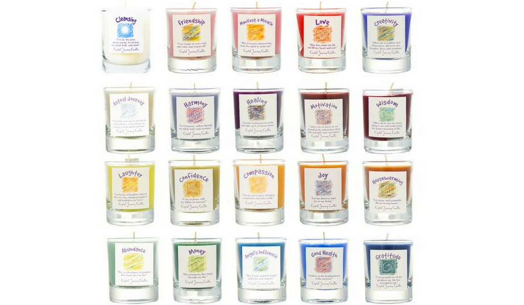 crystal journey candles