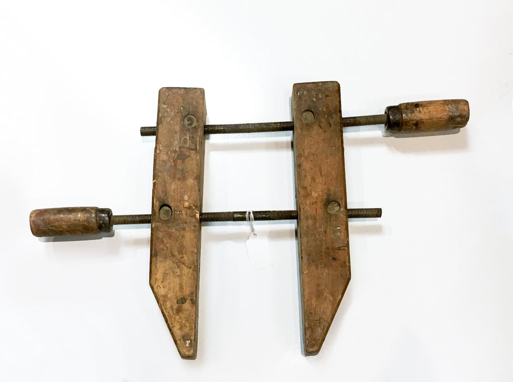 1940's Vintage Clamps