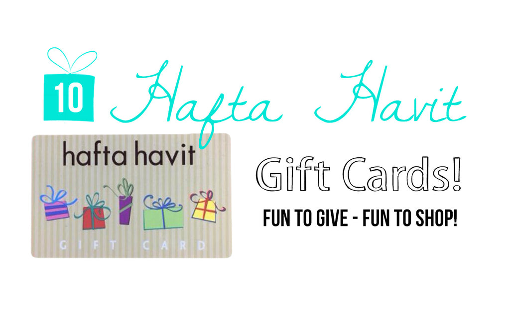 10 hafta havit gift cards