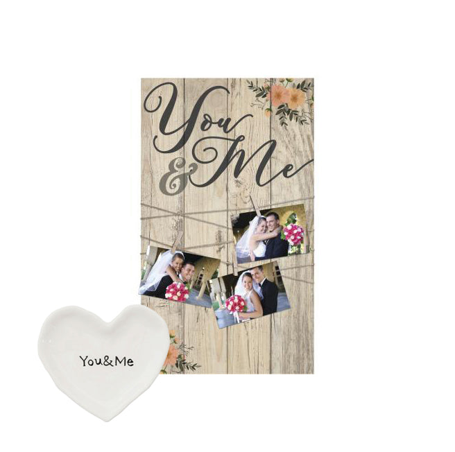 you and me photo holder