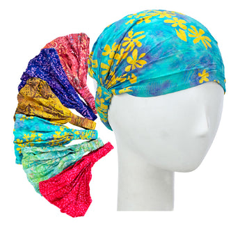 Recycled Sarong Headbands