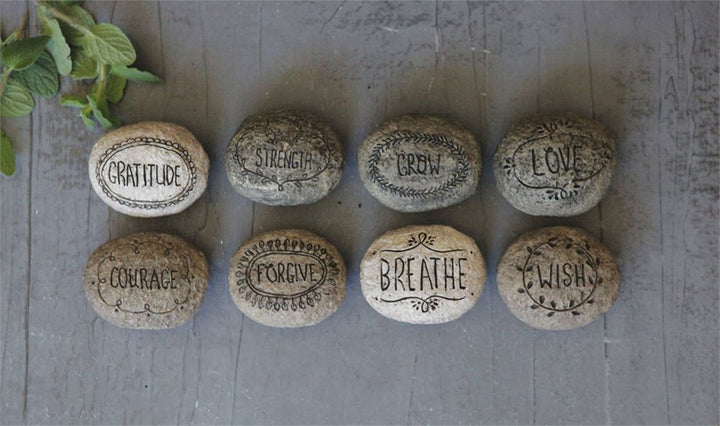Inspirational Carved Stones