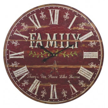 Oversized Family Clock