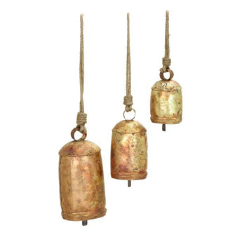 Iron Hanging Bells, Assorted Sizes