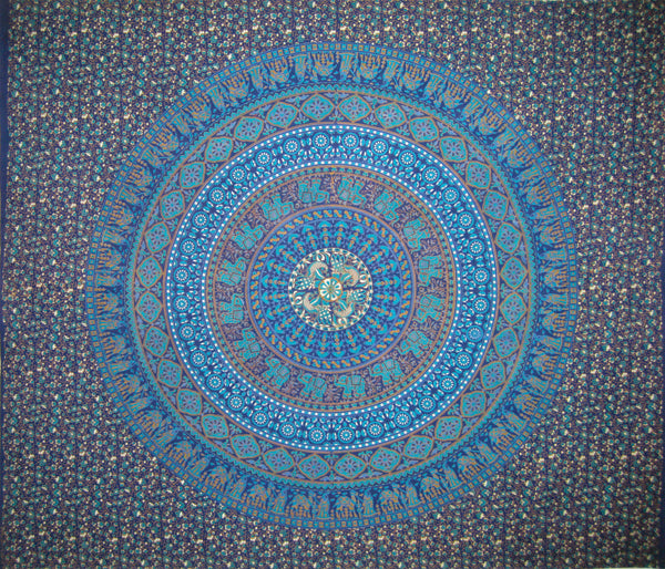 XL Blue Tapestry