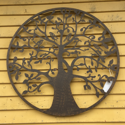 Tree of Life Metal Sign - Available for Store Pick Up Only