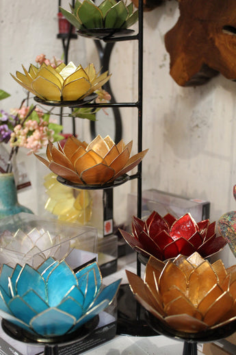 Lotus Chakra Candle Holders