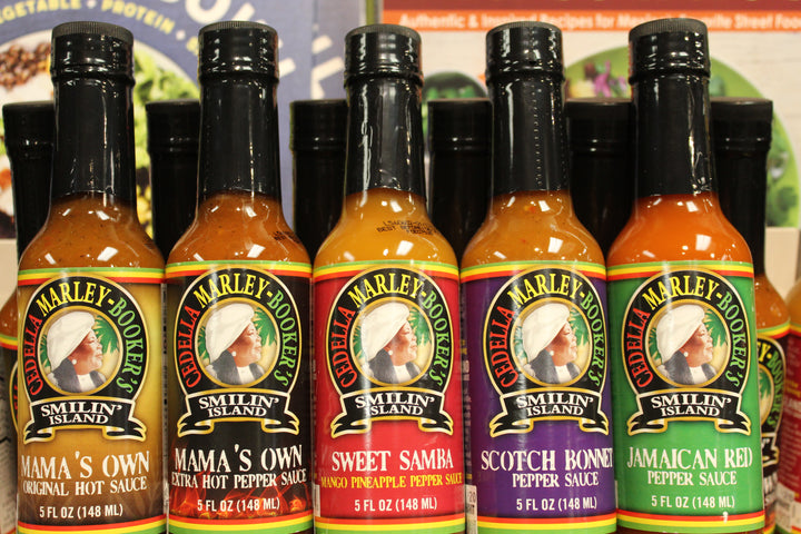 Cedella Marley Booker's Smilin Island Hot Sauce