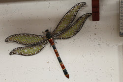 Whimsical Metal Dragonfly