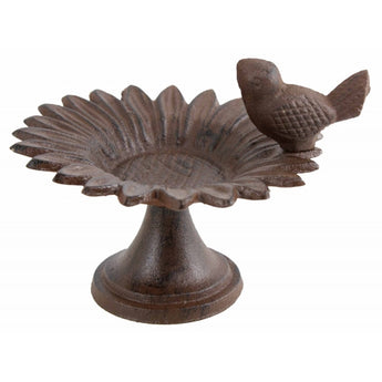 Whimsical Bird Feeder - Cast iron Sunflower