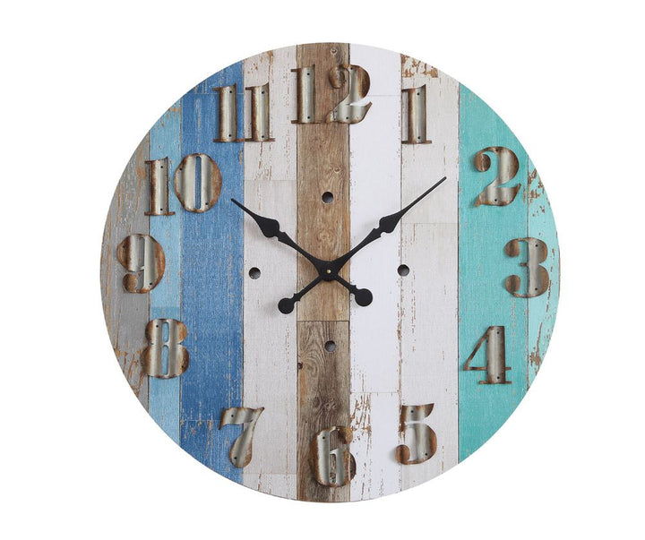 Beachy Blue Clock