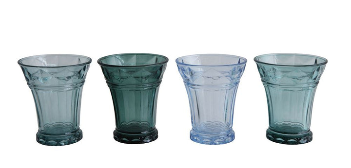 Drinking Glasses, Blue