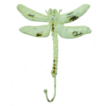 Distressed Metal Dragonfly Hooks
