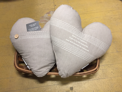 Heart Love Notes Pillow