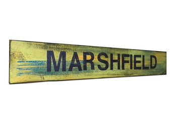Rustic Marshfield Sign