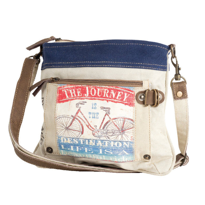 THE JOURNEY CROSSBODY | Recycled Canvas Bag