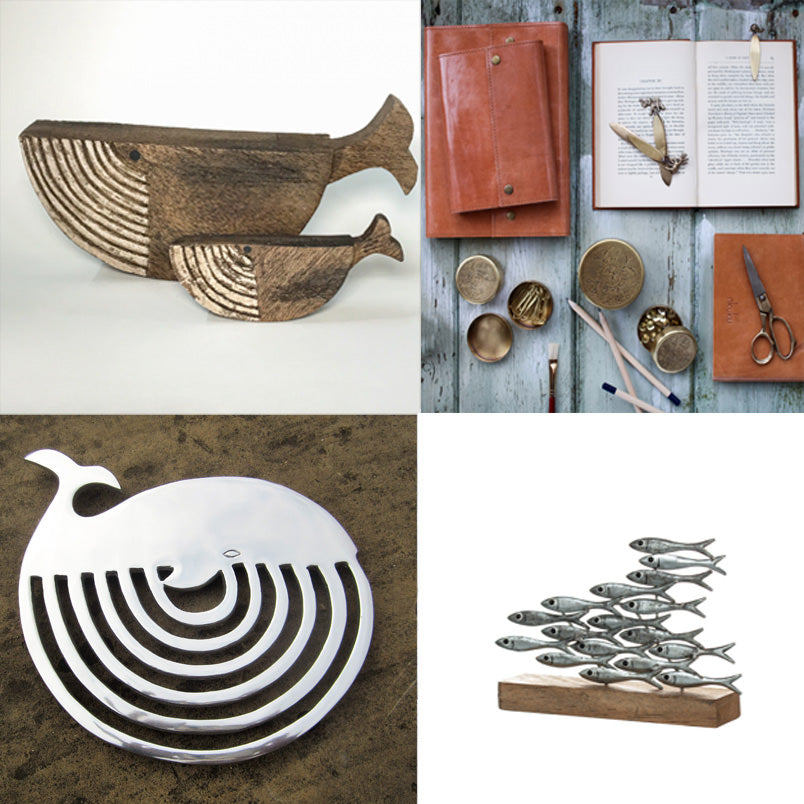 Tabletop gift selection from River Dart Gallery