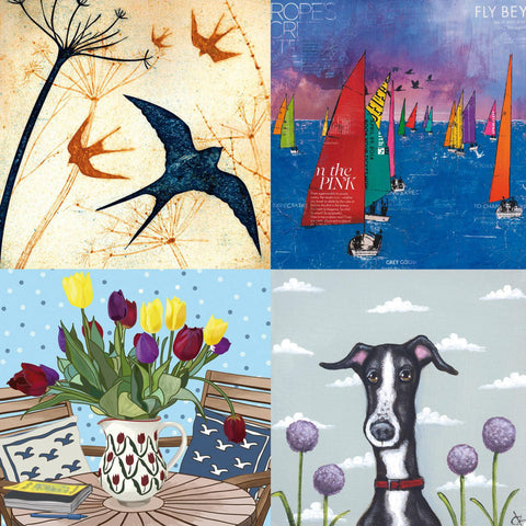 Greeting Cards from Green Pebbles and River Dart Gallery's Photo cards