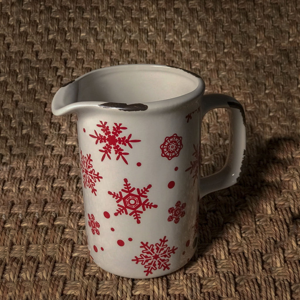 Stoneware Winter Jug