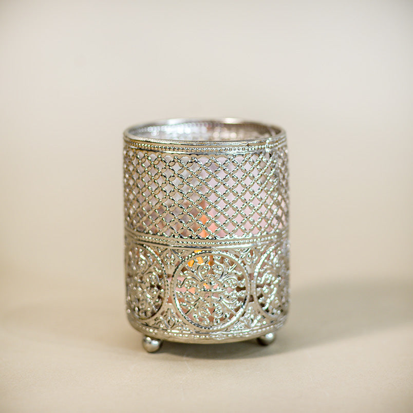 moroccan tea-light holder