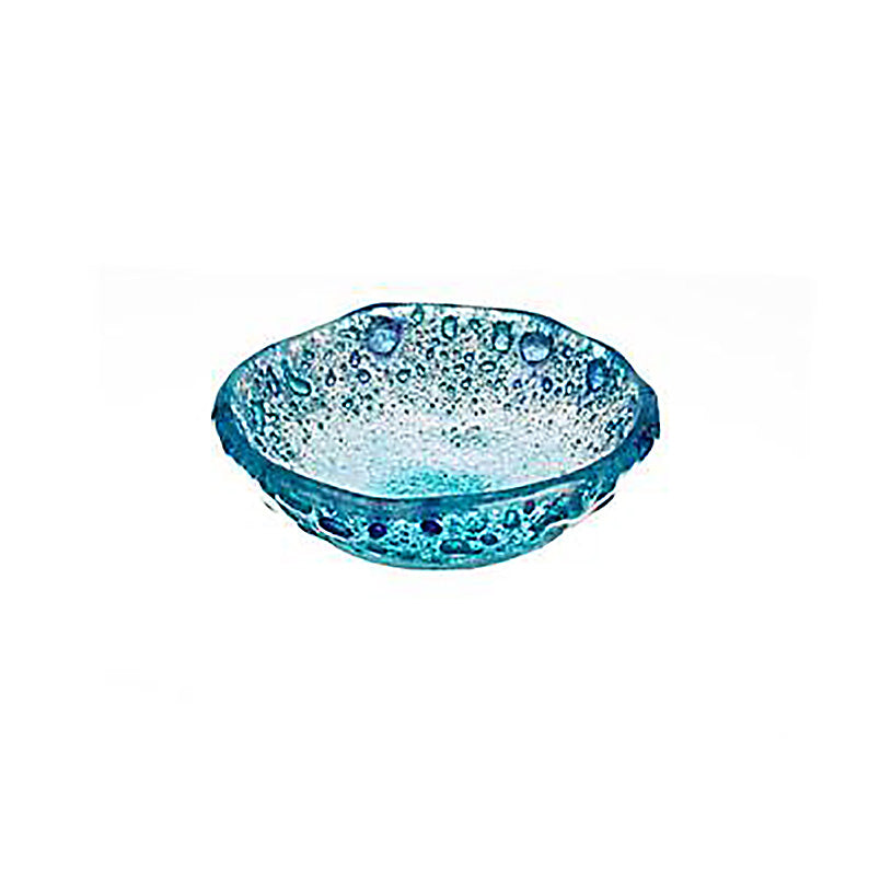 Glass splash bowl